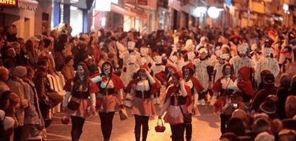 Carnaval desfile Benidorm