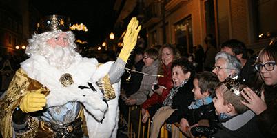 Reyes Magos Gaspar en Benidorm