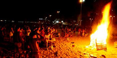 Noche de San Juan en Benidorm