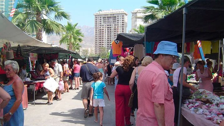 Jour de marché La Nucía