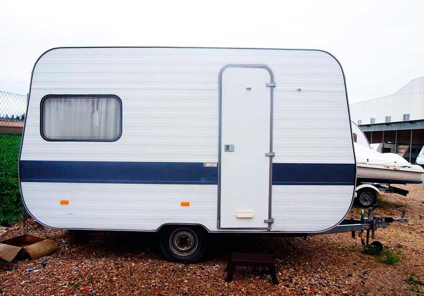 Remolque vivienda o caravana
