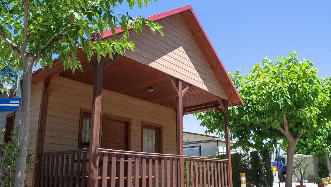 Bungalow de madera Camping Arena Blanca