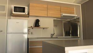 Cocina del Mobil Home Arena