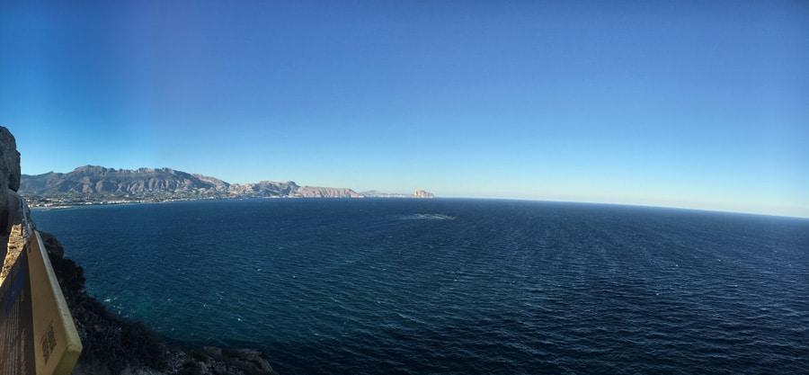 Vistas Faro del Albir