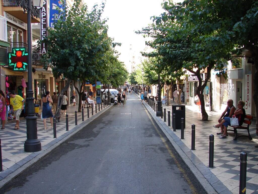 Calle Alameda Benidorm