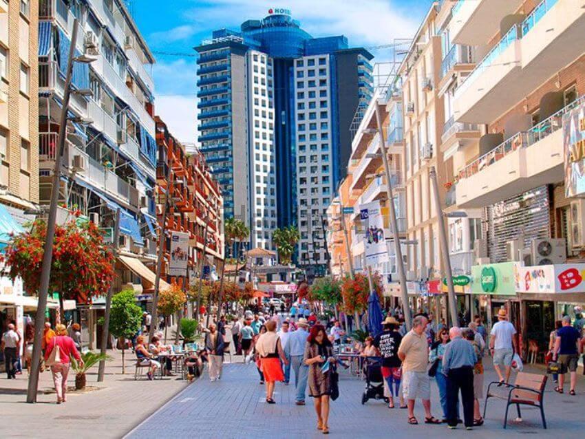 Calle Gambo Benidorm