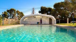 Camping en Benidorm con piscina