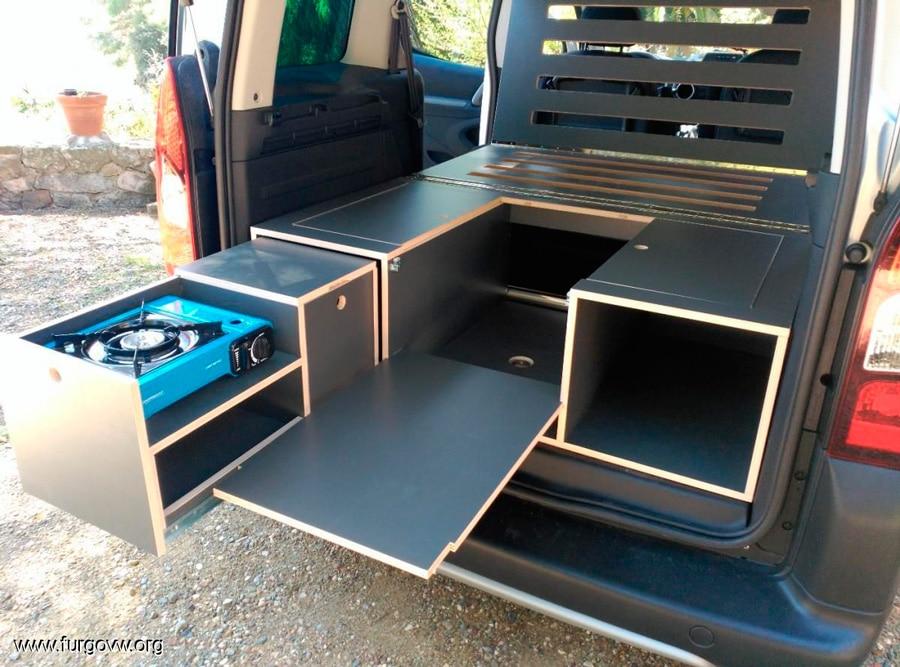 Mueble todo en uno para camper