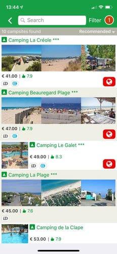 ACSI Campings Europa 2