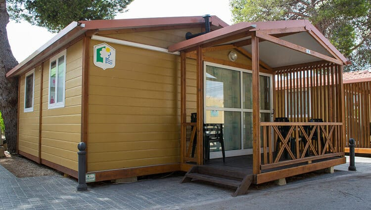 Bungalow Camping Arena Blanca