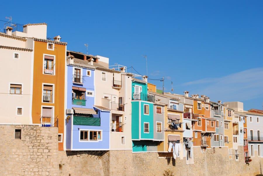 Casas colgantes Villajoyosa