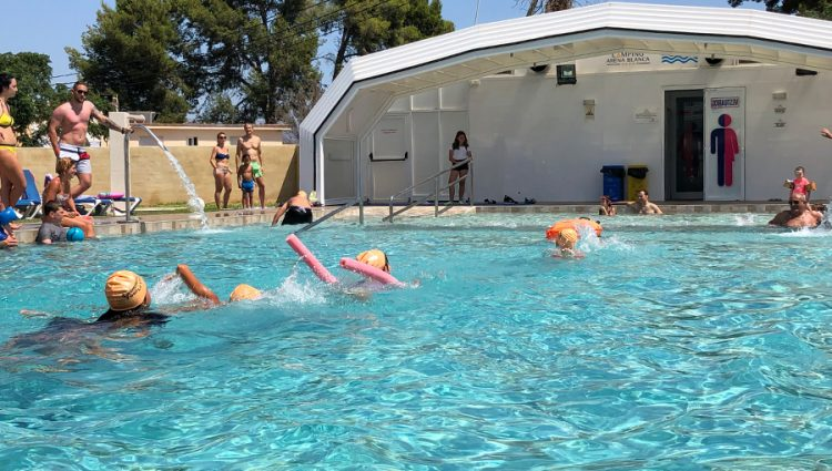 Actividades Infantiles en la piscina