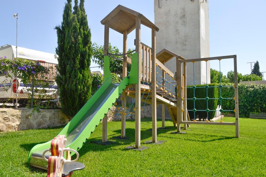 Parque infantil Camping Arena Blanca