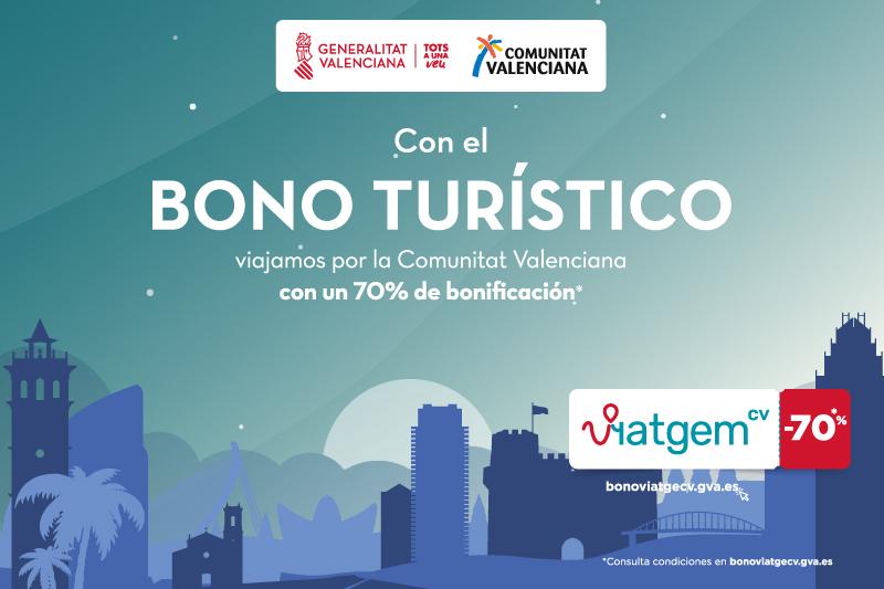 Bono turístico Comunidad Valenciana