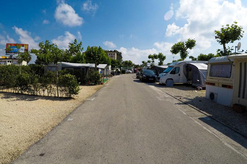Camping Arena Blanca plot parcela