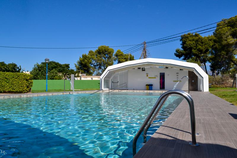 Camping con piscina