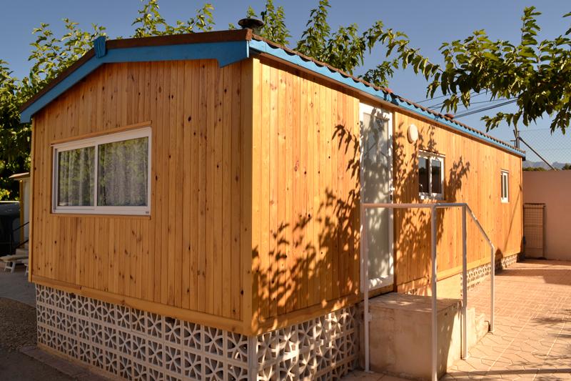 Exterior Mobil Home