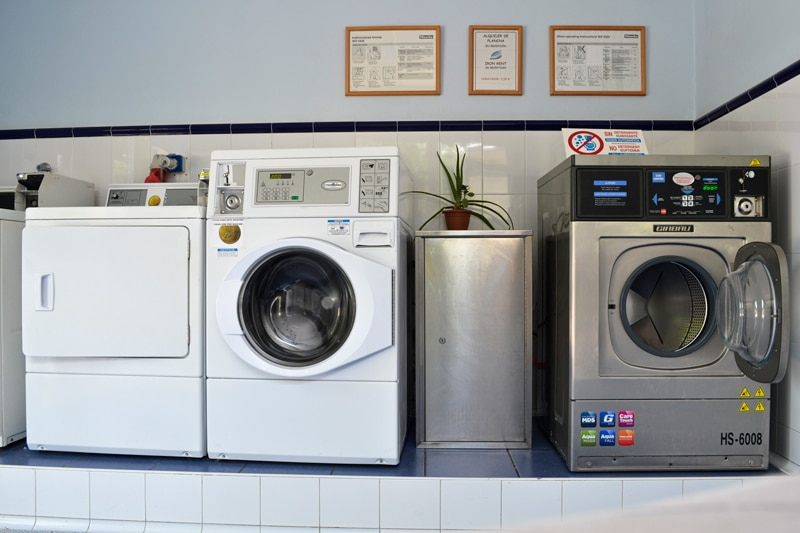 Lavadoras y secadora
