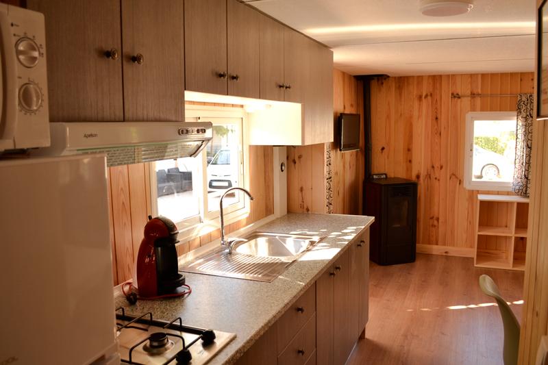 Mobil Home casa de madera