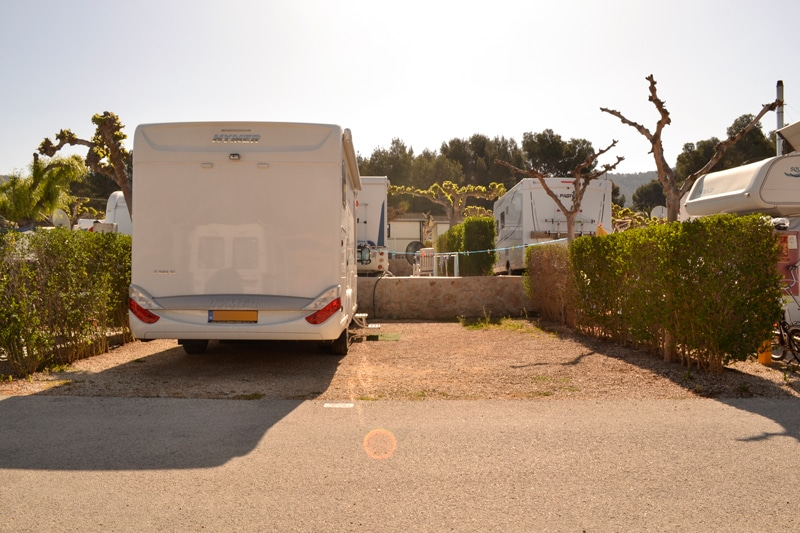 Parcela Camper Camping Arena Blanca