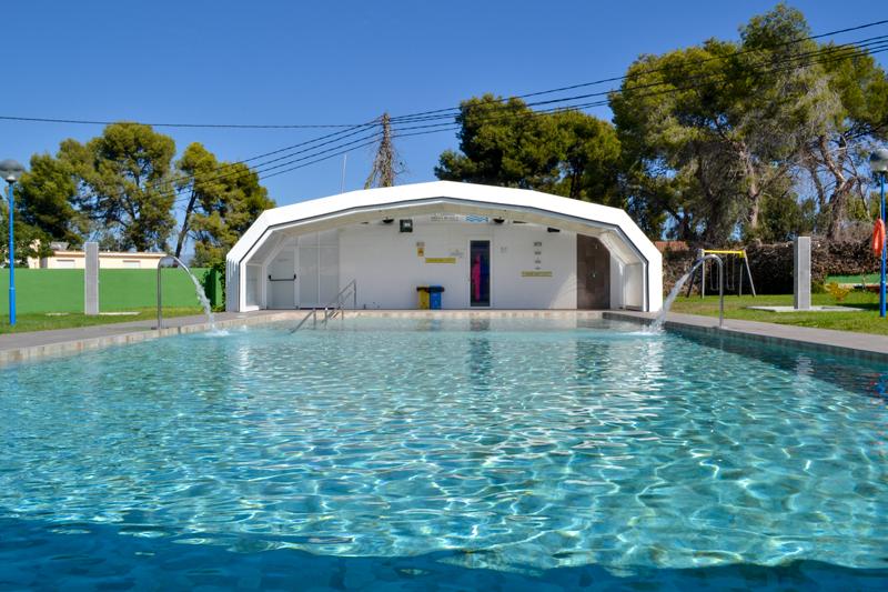 Piscina Camping Arena Blanca