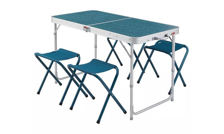 Sillas y mesas plegables de acampada